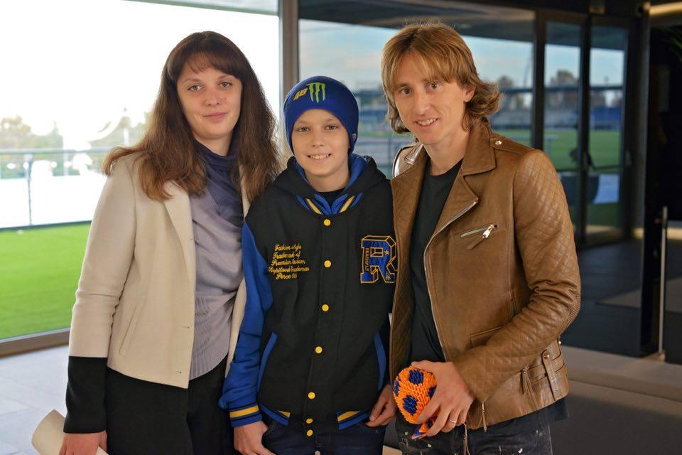 Кріштіану Роналду здійснив мрію онкохворого хлопчика з України