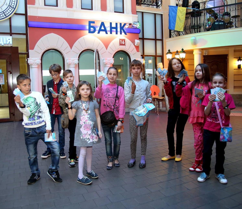 Діти з ОХМАТДИту провели незабутній день у Кідландії
